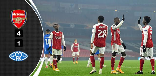 Arsenal vs Molde – Highlights