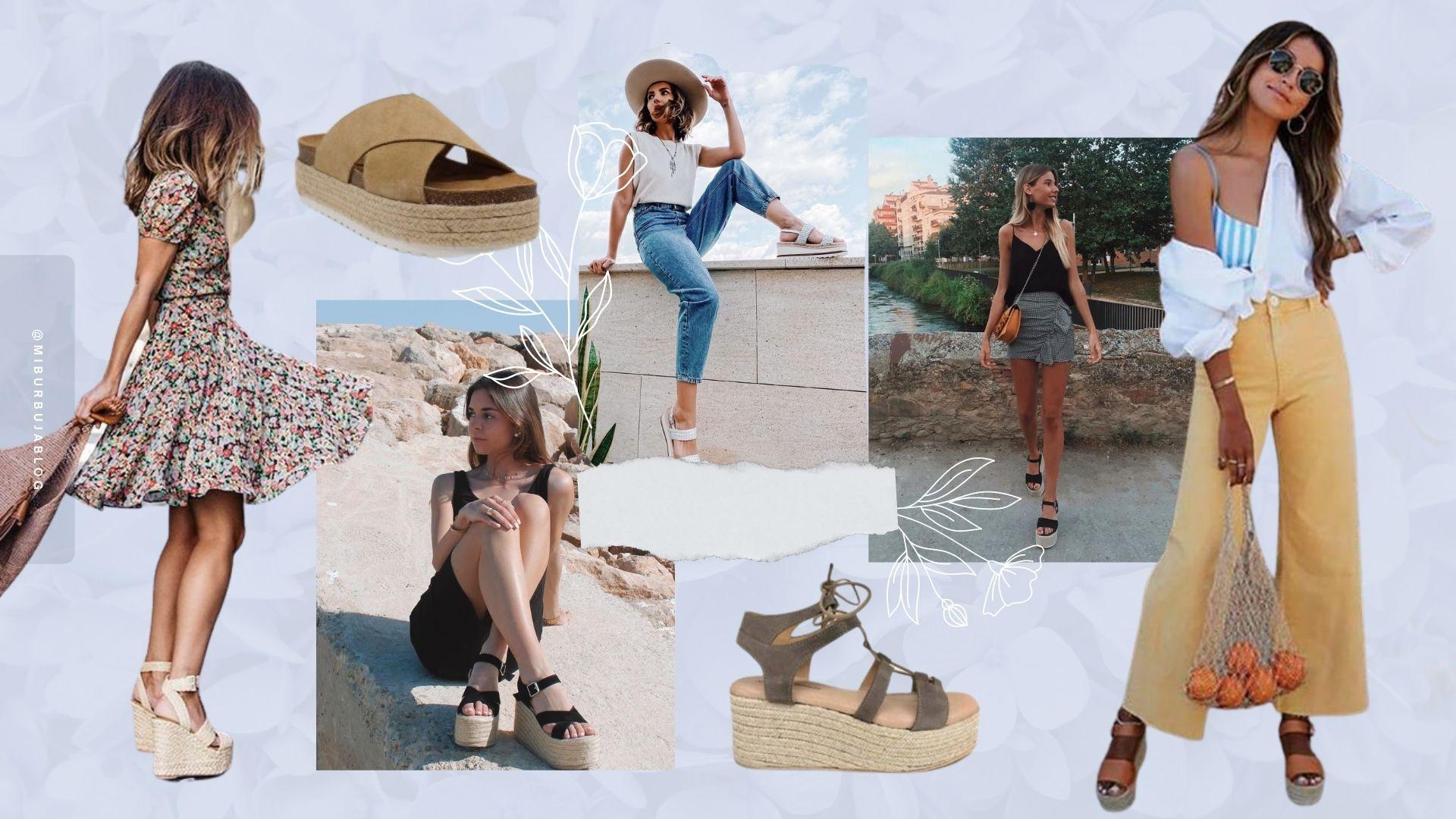 Sandalias de plataforma: 5 formas de llevar el calzado del verano