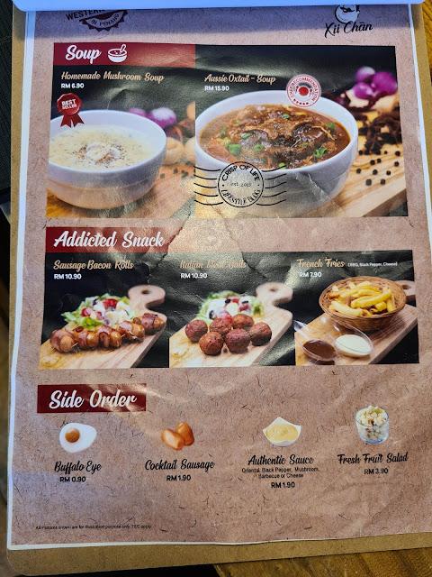 Xii Chan Western Food @ Kampung Malabar, Penang