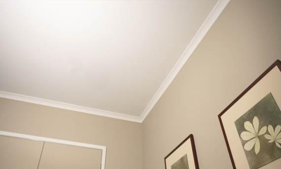 Plafon Triplek Ruang Tamu Sederhana