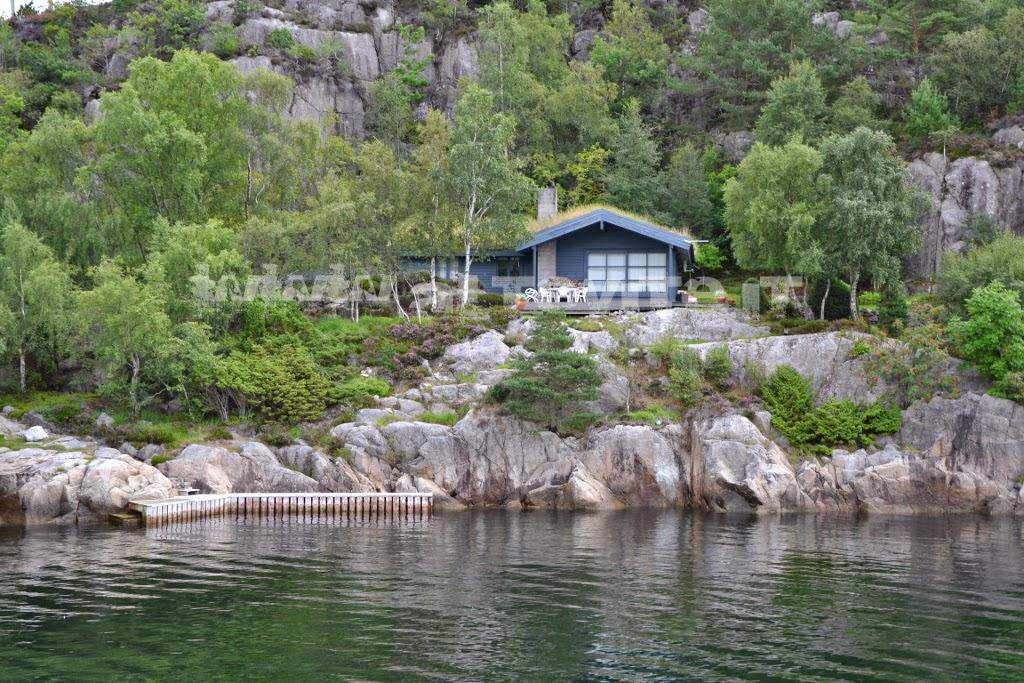 lysefjord house