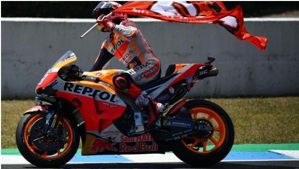 Marc Marquez Bertekad Sudahi Rekor Buruk di MotoGP Inggris