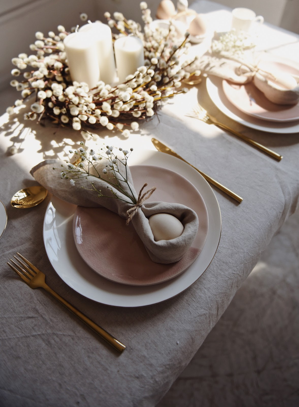 Wielkanocny stół – moja propozycja