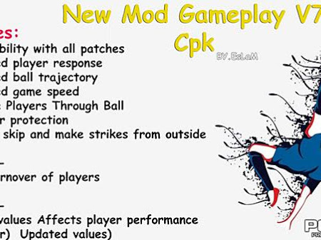 PES 2017 New Gameplay Mod V7