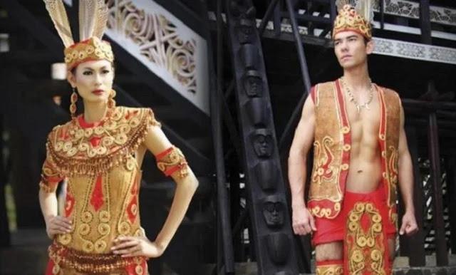 King Bibinge dan King Baba - Provinsi Kalimantan Barat