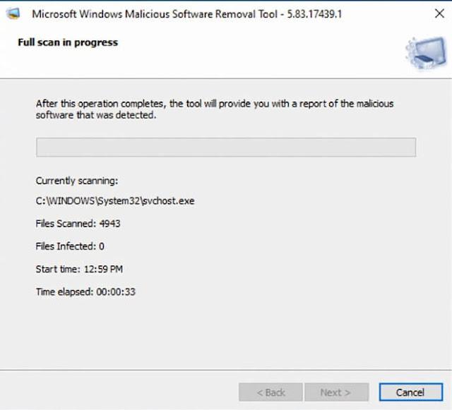 حذف و ازالة ملفات التجسس و المالوير و التروجانات و الفيروسات على الويندوز 10 و 8.1 و 7 بدون تحميل برامج