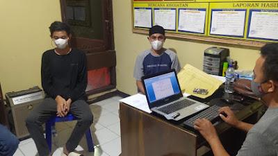 Kanit Reskrim Polsek Pammana  Lakukan Pemeriksaan Saksi Korban Terkait Kasus Pengrusakan di Lempa