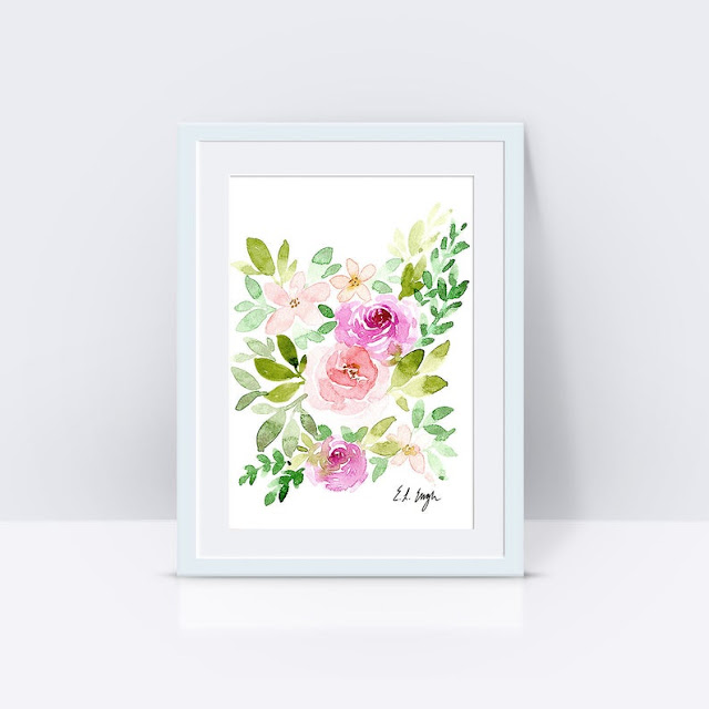 Spring Floral Sale at Elise Engh Watercolors