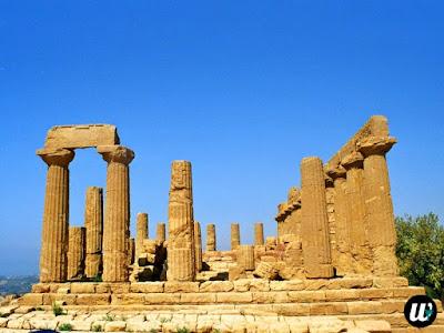 Temple of Juno, Valle dei Templi, Agrigento | Sicily, Italy | wayamaya