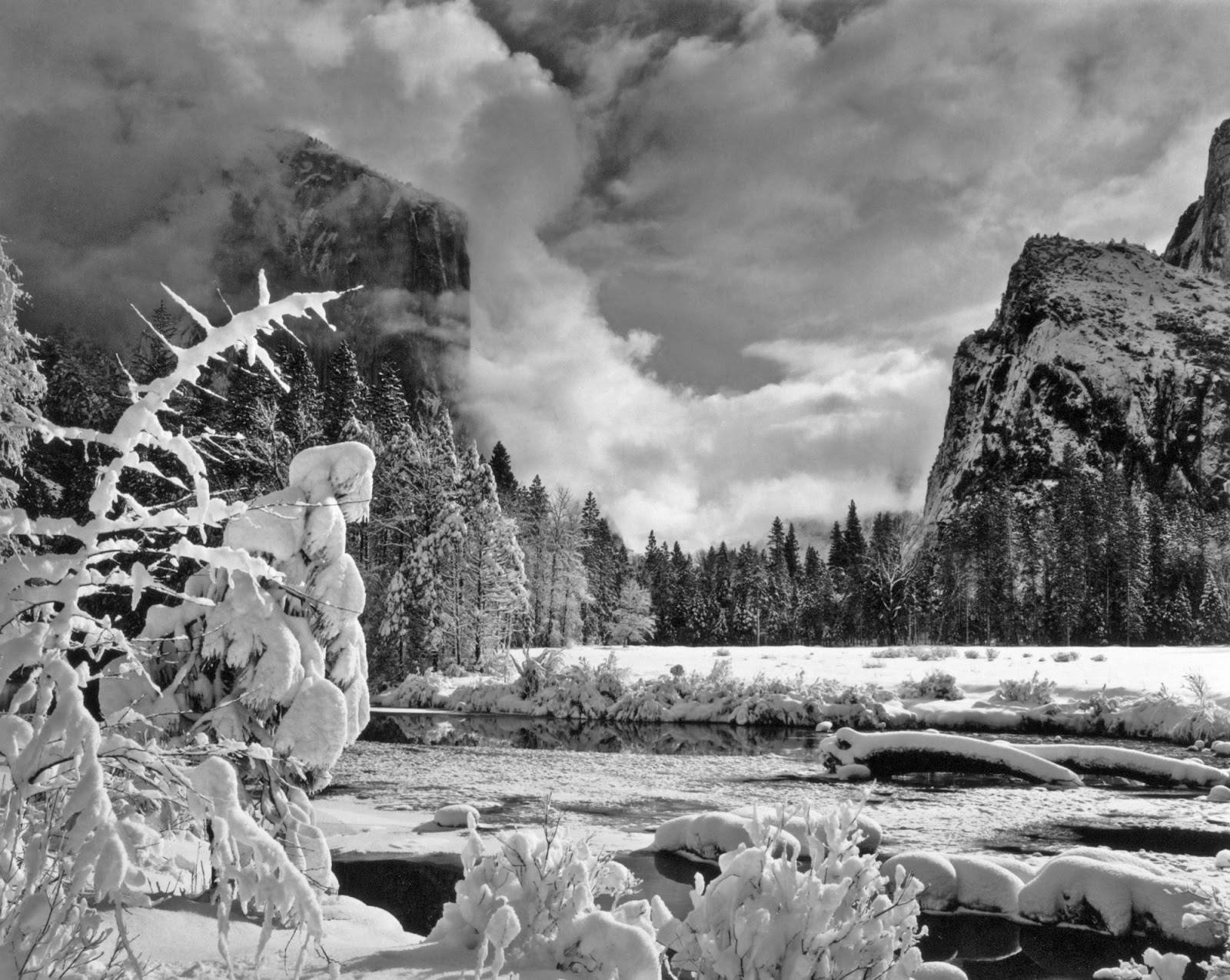 a history of the works of ansel adams This beautiful black and white photograph is hand made from ansel adams of half dome and among the of what adams considered his strongest work.