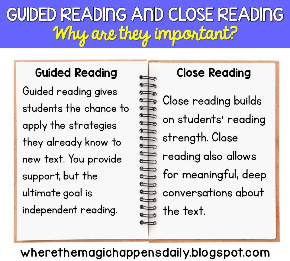 Guide reading