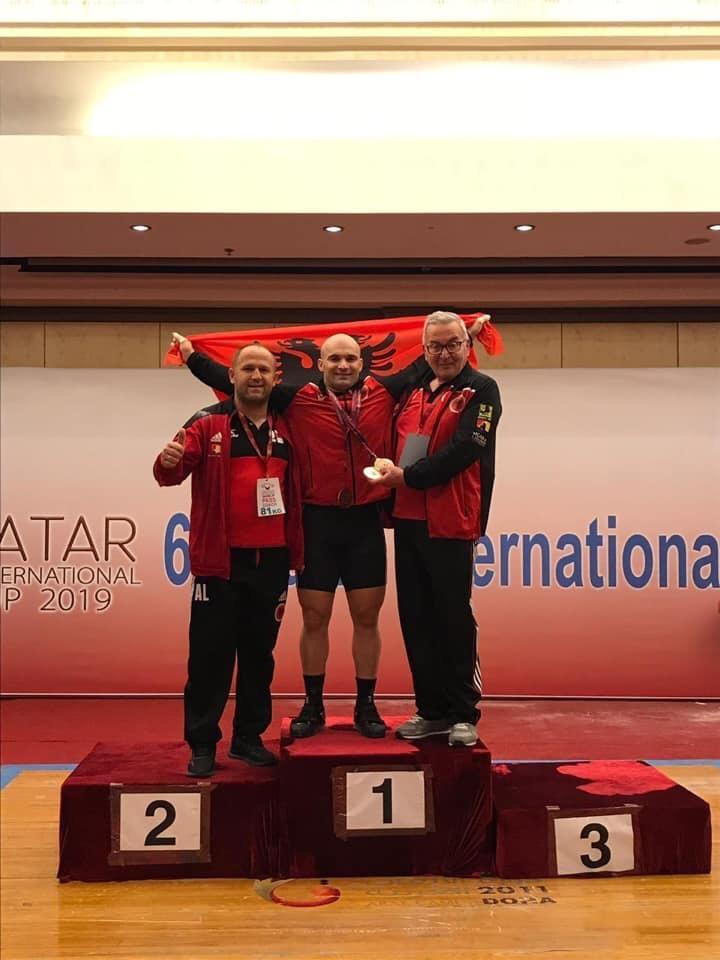 Albanian Weightlifters Erkand Qerimaj and Briken Calja win 6 medals in Qatar