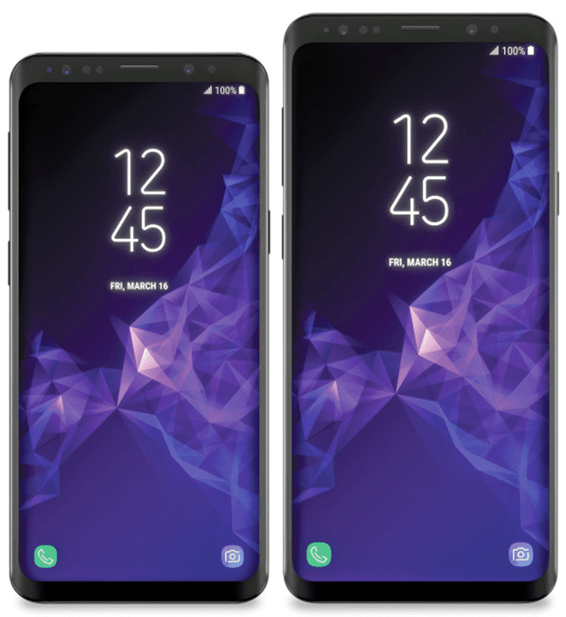 Samsung Galaxy S9 and Galaxy S9+ design revealed ahead of launch!