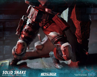 Solid Snake 1/4 de Metal Gear Solid - First 4 Figures