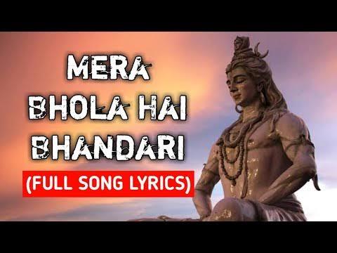 mera bhola hai bhandari lyrics