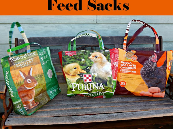 How to Turn a Feed Sack into a Grocery or Shopping Bag