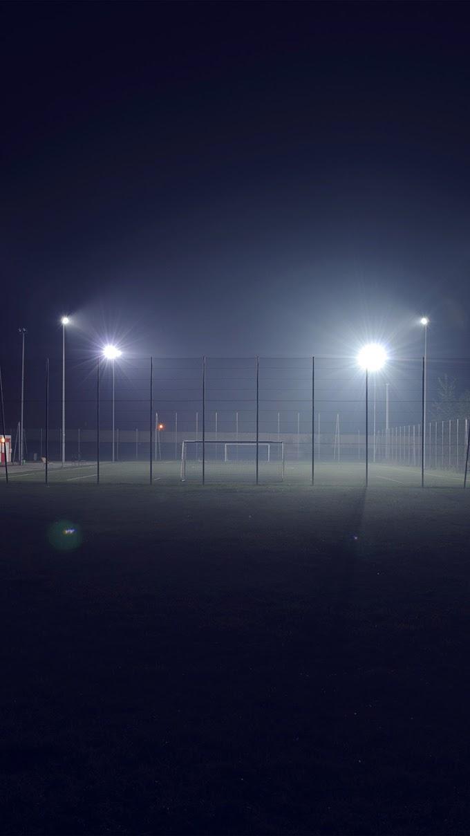 Papel de Parede iPhone Campo de Futebol