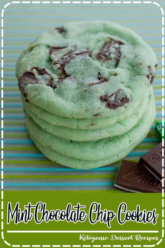 Whip up a batch of cookies with chunks of chocolate and a touch of mint Mint Chocolate Chip Cookies