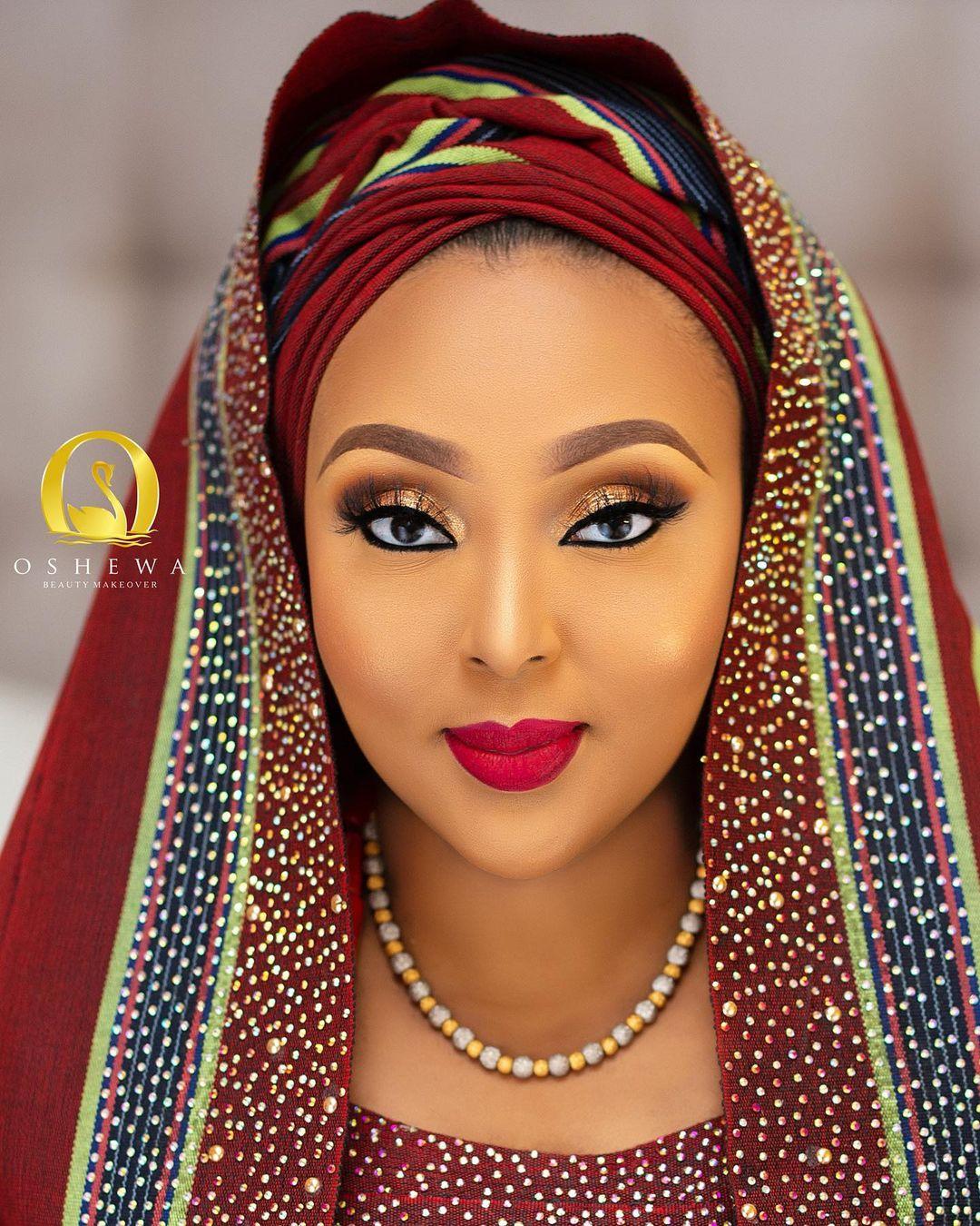 Hausa wedding Gele style