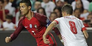نتيجة مواجهة فريق البرتغال امام نظيره سويسرا في دوري الامم الاوربية