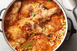 Dominican Boiled Chicken Recipes / Guisado Pollo