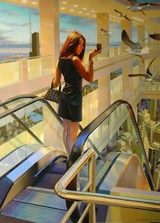 fantástico-realismo-cuadros-con-mujeres mujeres-pintras-realistas-oleo