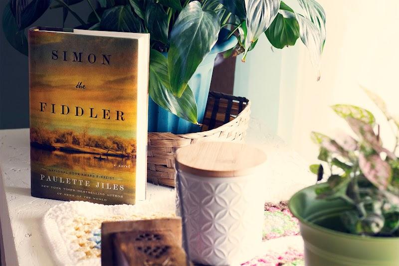{ Simon the Fiddler by Paulette Jiles - TLC Book Tour }