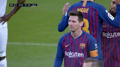 LFP-Week-37 Barcelona 2 vs 0 Getafe 12-05-2019