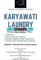 Karir Surabaya di Mangi Laundry Service Agustus 2020