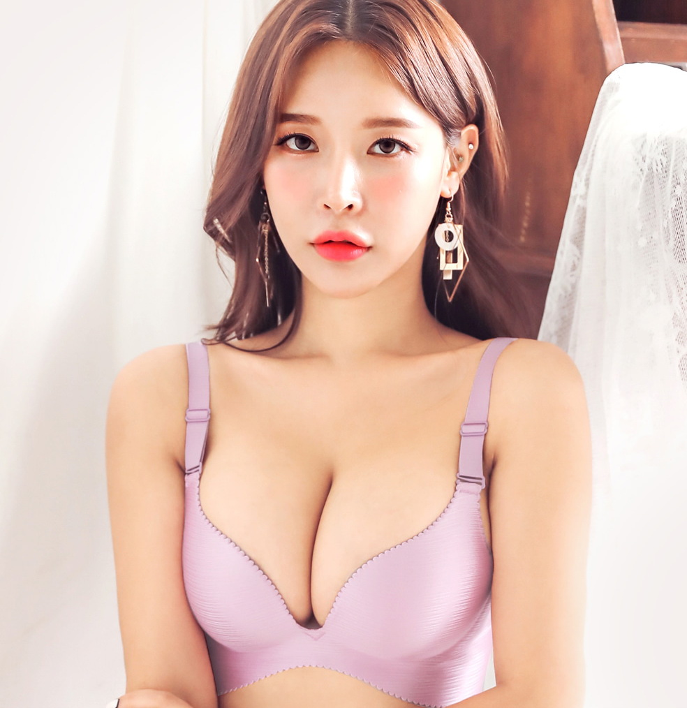 Lee A Yoon - Bralette Colors Gray Pink Purple - Korean Lingerie - 200208