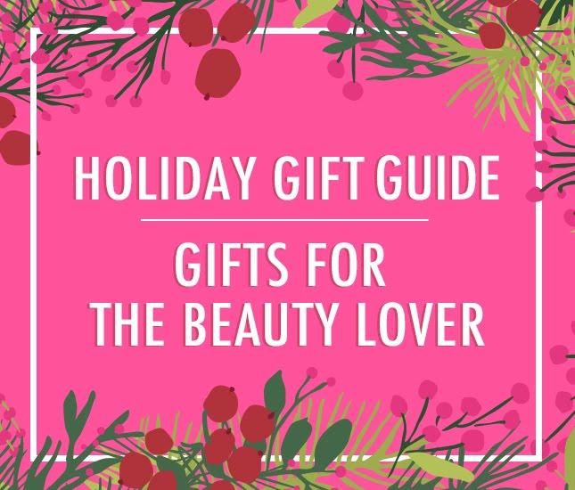 monogram gift guide for the beauty lover