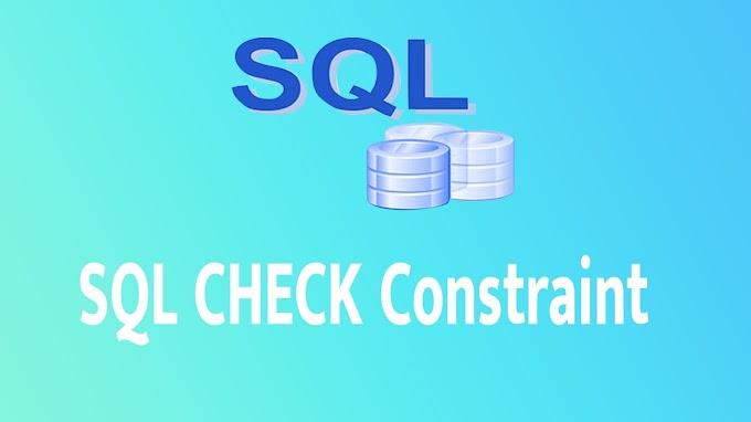 SQL CHECK Constraint