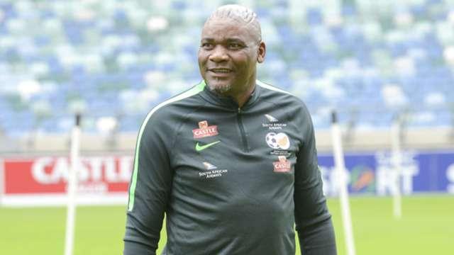 Bafana Bafana head coach Molefi Ntseki