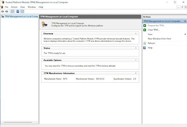update tpm 1.2 to 2.0 lenovo