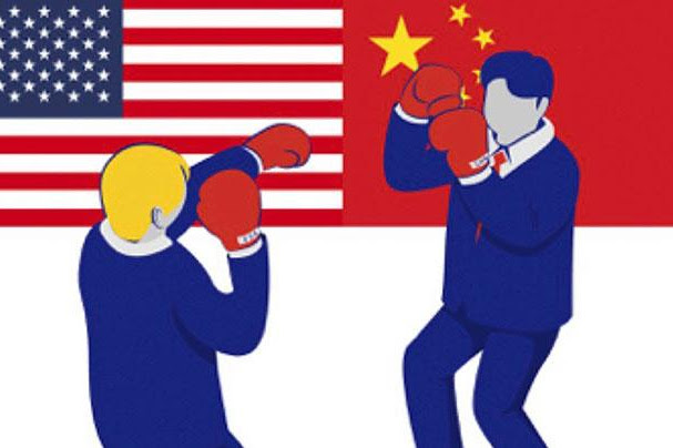 Cina Melawan Amerika