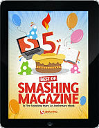 Smashing Magazine 5th anniversary offer