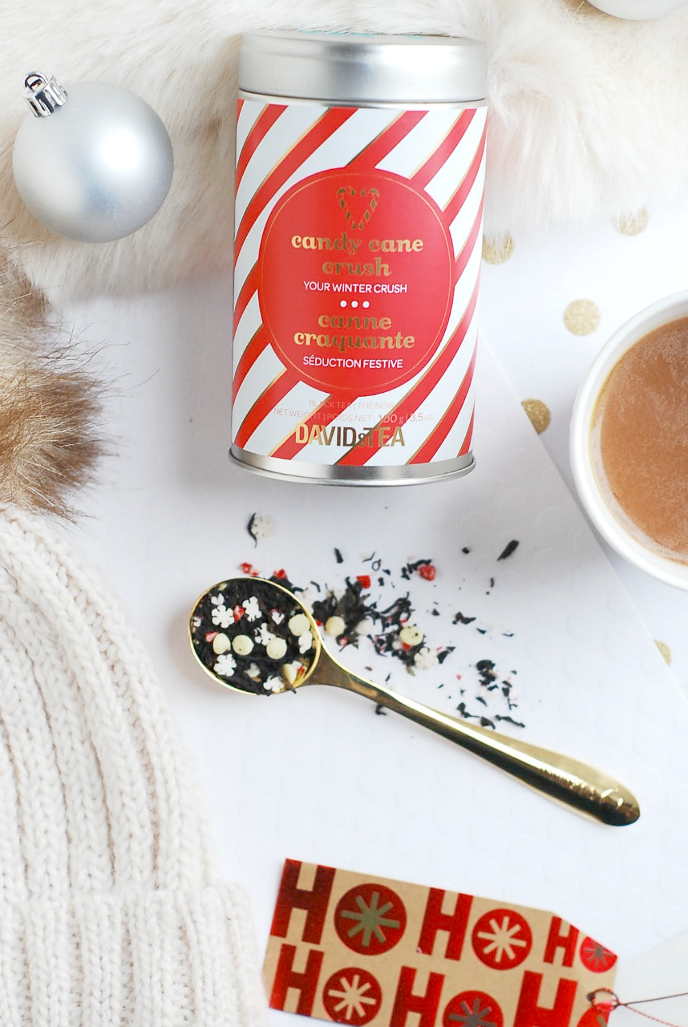 Candy Cane Crush review David's Tea