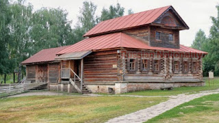 Museum of Wooden Architecture in Suzdal - Russia