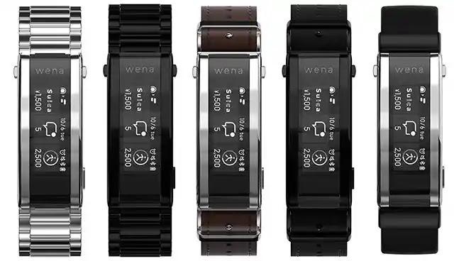 السوار الذكي Sony Wena 3 من أجل الساعات يأتي مع مستشعر ضربات القلب، والدعم لـ Alexa