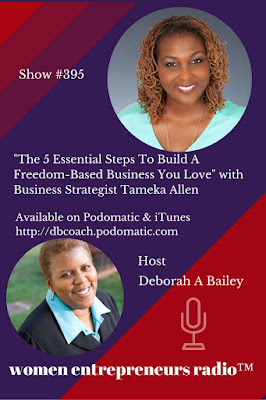 Tameka Allen on Women Entrepreneurs Radio