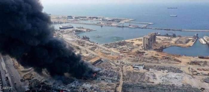 الانفجار أحدث دمارا كبيرا في بيروت تقرير يكشف مفاجأة بشأن شحنة نيترات الأمونيوم