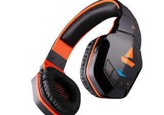 boAt Rockerz 510 Bluetooth On-Ear Headphone with Mic(Molten Orange)