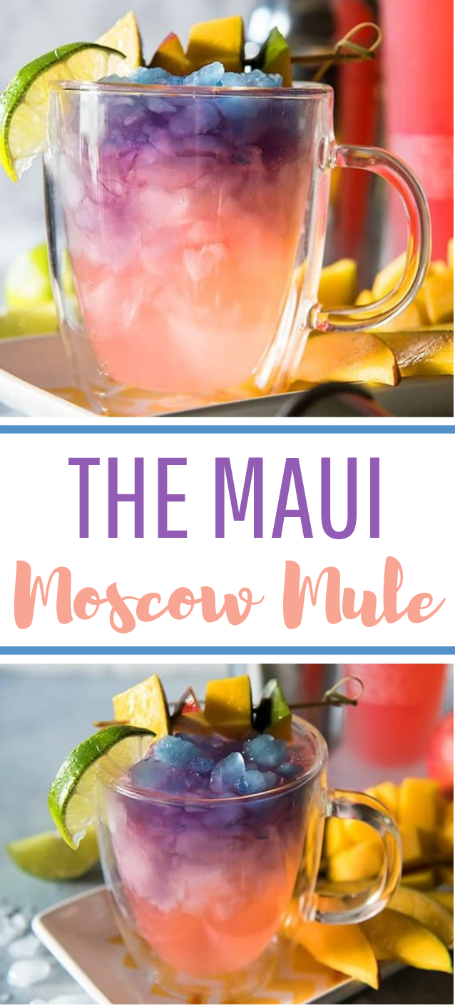 The Maui Moscow Mule #tropicaldrink #cocktail