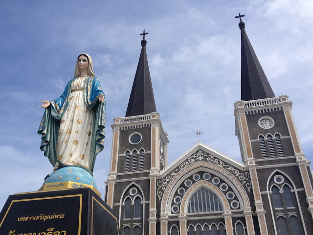 The Cathedral of Immaculate Conception, Chanthaburi, Thailand