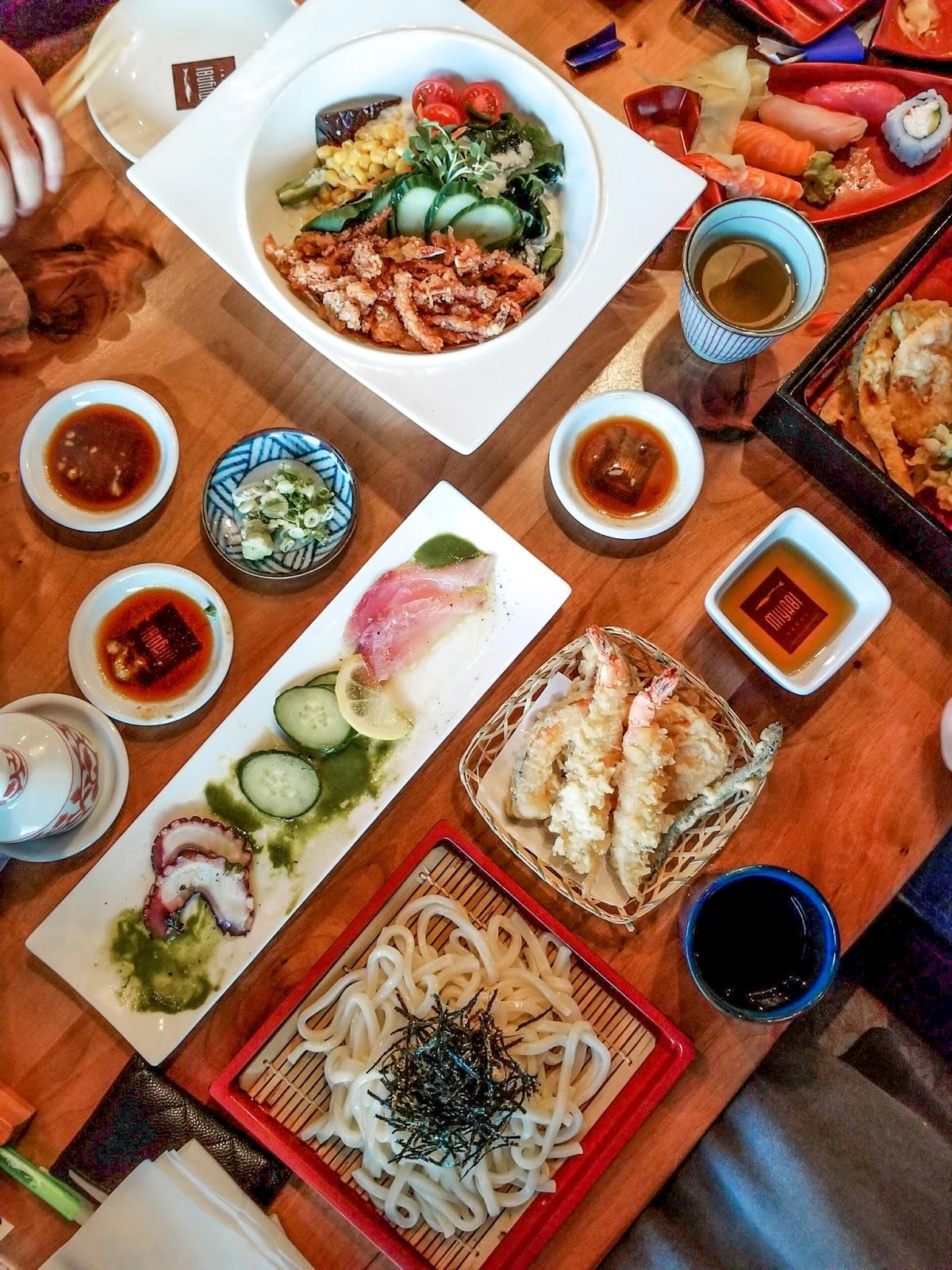 knolling seafood tukwilla seattle foodie blogger