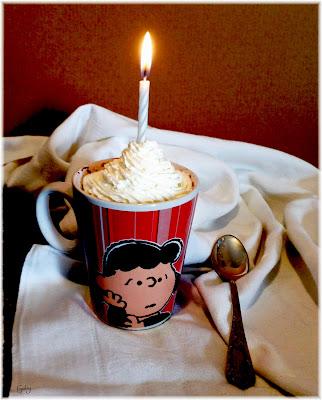 Devil's food mug cake...
