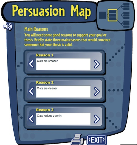Read write and think persuasion map houghton