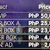Ticket Prices for the 65th Annual Miss Universe in Manila