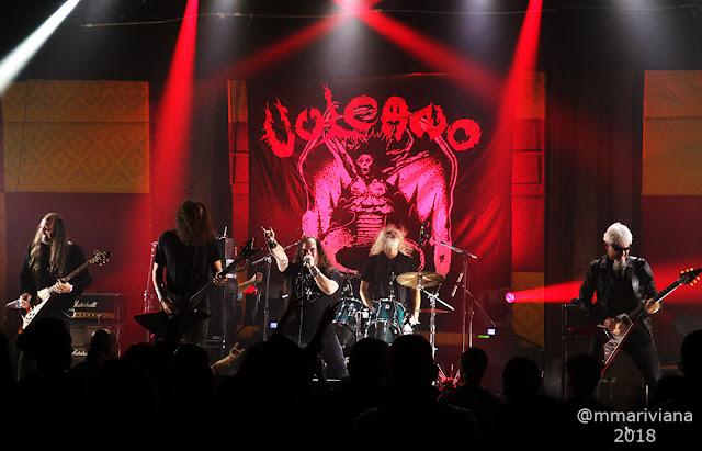 Vulcano: ao lado de Enthroned, Purgatory, Nervochaos e Tungsteno na Bolívia, confira!