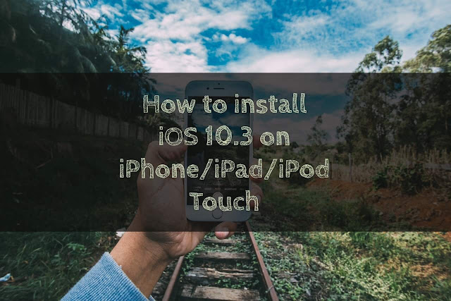 It's a really simple and different method for installing iOS 10.3 firmware on iPhone, iPad and iPod touch via iTunes and through OTA(Over The Air) software update.  How to Install iOS 10.3 on iPhone/iPad Via OTA Software Update: